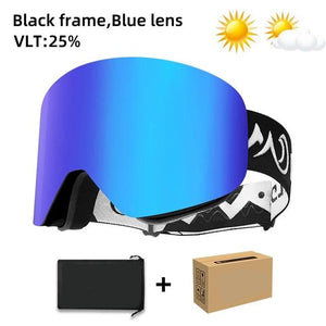 NEW! YOUTH Magnetic Anti-Fog UV400 Ski Shades