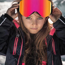Load image into Gallery viewer, NEW! YOUTH Magnetic Anti-Fog UV400 Ski Shades