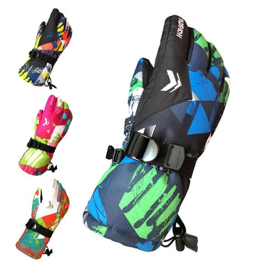 Waterproof, Windproof, Tech-Friendly Adult Snow & Ski Gloves