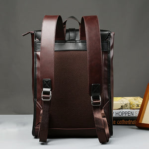 Men's Vintage Leather Backpack