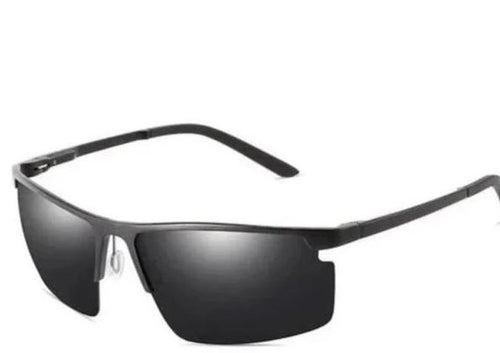 Sleek HD Polarized Rectangle Shades