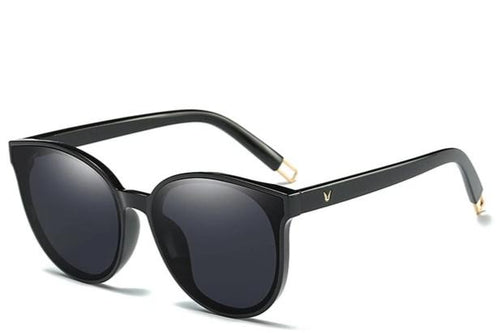 Women's Unique Oversized Cat-Eye Shades