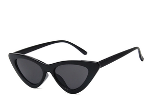Women's Triangular Retro Cat-Eye Shades