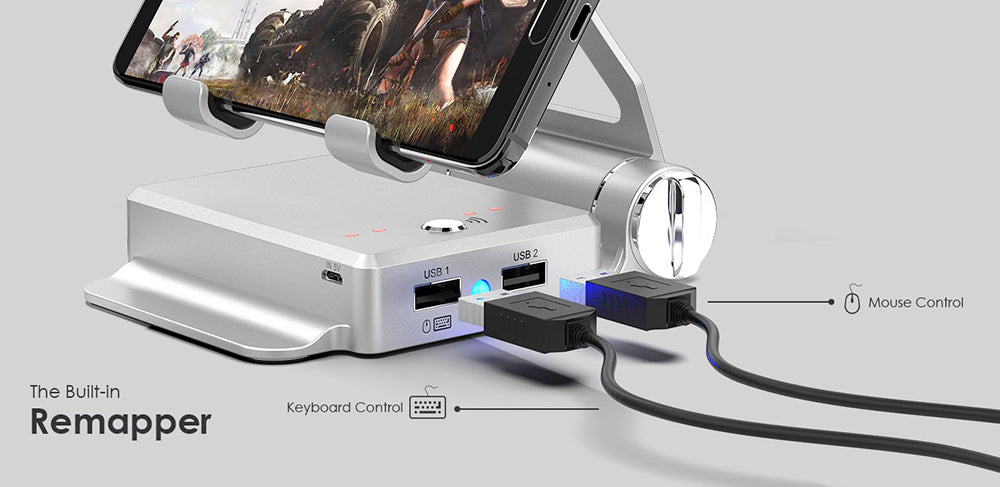 BattleDock Converter / Connect Keyboard & Mouse To Your Mobile Phone