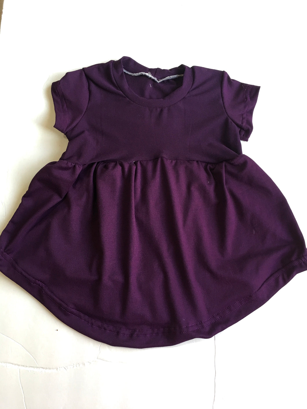 Eggplant purple Boho (Epilepsy Awareness) - SweetChildsBoutique