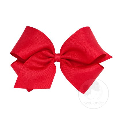 Red Wee Ones Bows