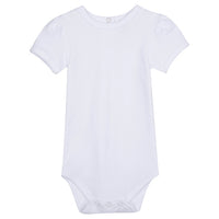 Blank Unisex Short Sleeve Infant Bodysuit