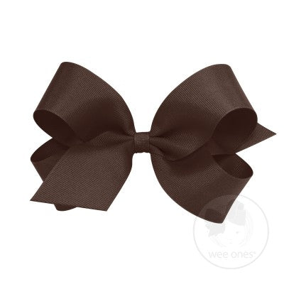 Wee Ones Brown Bows