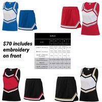 Custom Cheerleading Uniform