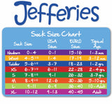 Jefferies Girls Ruffle Knee Highs