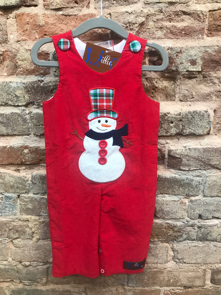 Millie Jay Santa Applique Longall