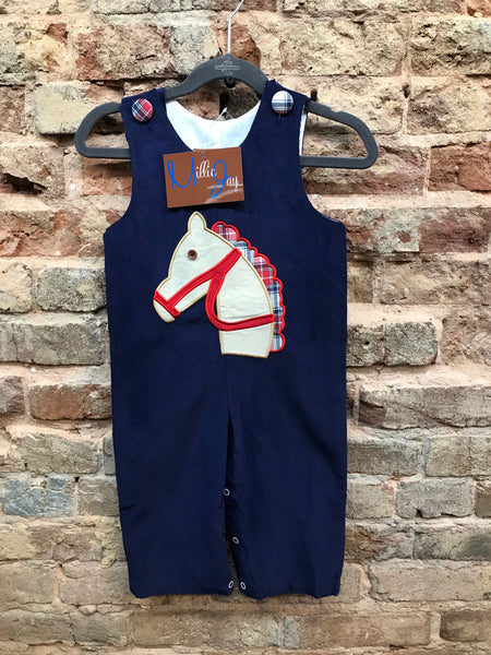Millie Jay Horse Applique Longall