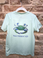 Southbound Short Sleeve Performance Tee (Crab)