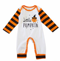 Little Pumpkin Boys Romper Set with Beanie