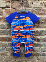 Shark Boys Romper