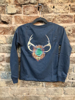 Properly Tied Antler Mount Long Sleeve