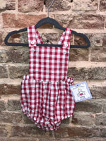 Three Sisters Red Gingham Bubble