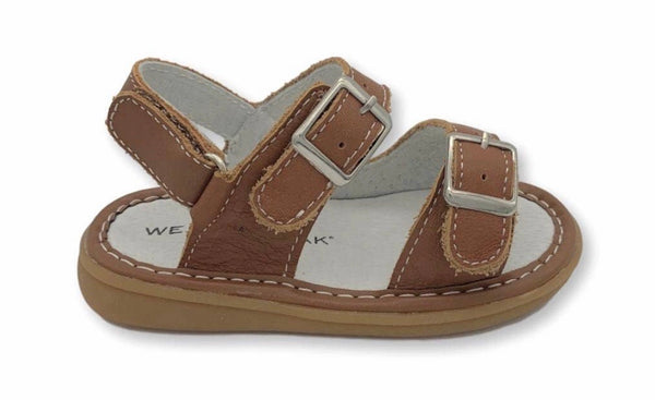 Wee Squeak Carter Brown Sandal