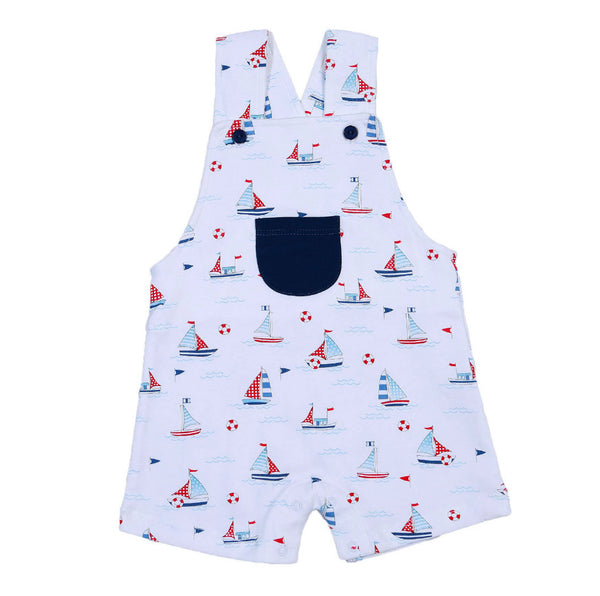 Sailboat Pocket Romper