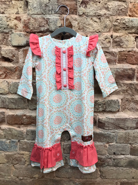 Millie Jay Angelic Girls Romper