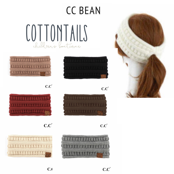 CC Brand Tween/Adult Ponytail Headband