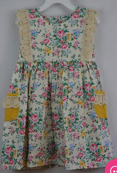 Three Sisters Vintage Rose Dress