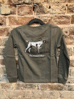 Properly Tied Pointer Long Sleeve Tan