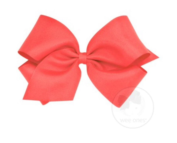 Wee Ones Watermelon Bow