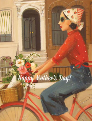 Brownstones Mother's Day Card