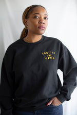 Rooting for Women Embroidered Sweatshirt - Rooting for Women