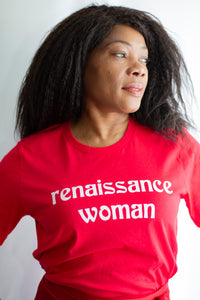 Renaissance Woman Tee - Rooting for Women