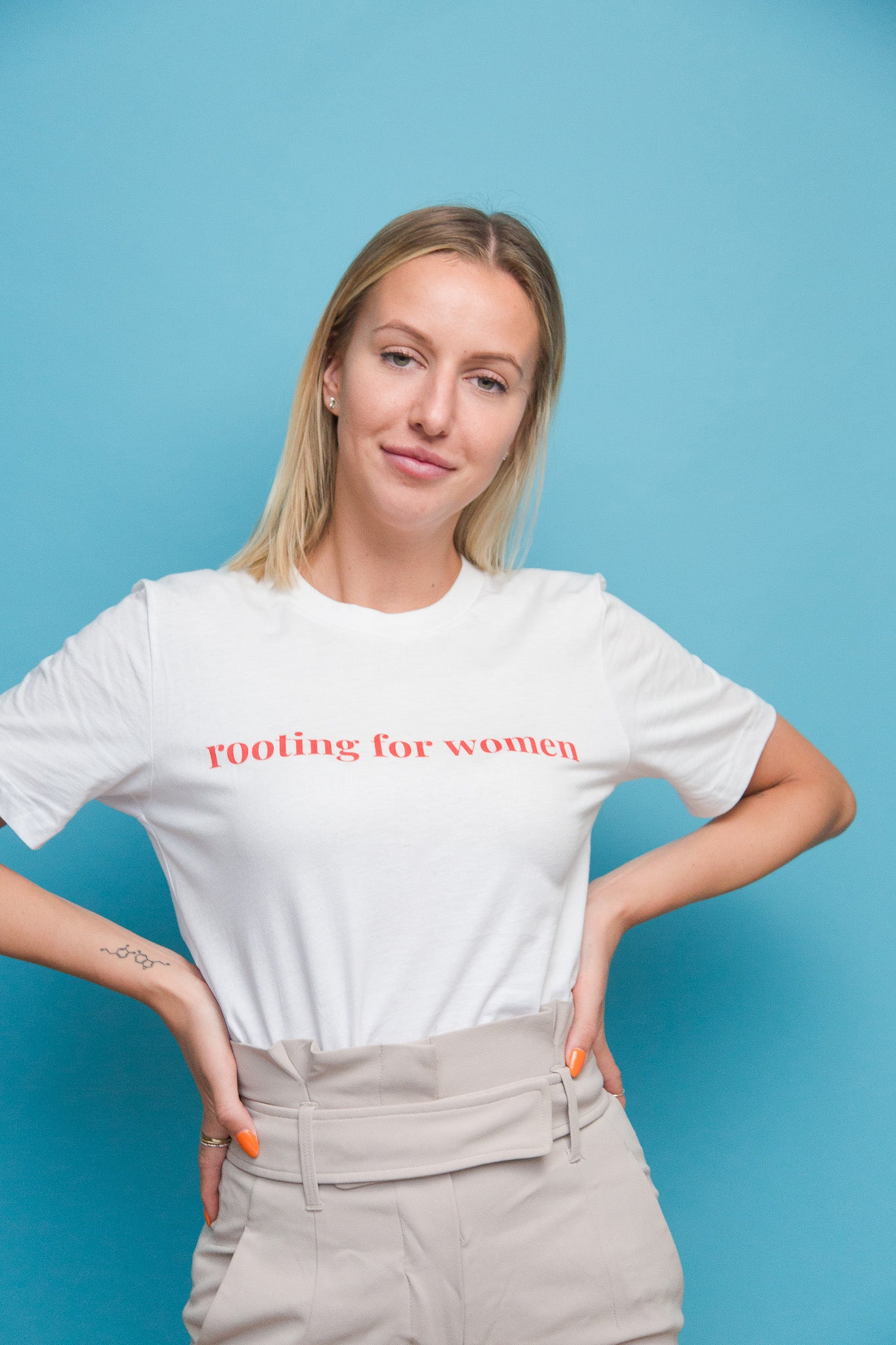 Rooting for Women Eco Tee