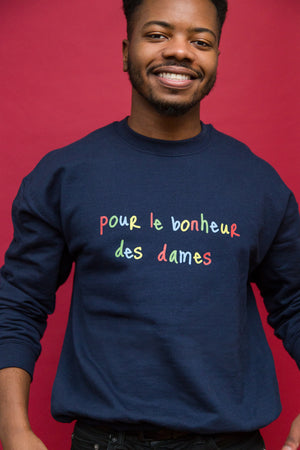 Bonheur des Dames Sweatshirt - Rooting for Women