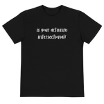 Intersectionality Eco Tee - Rooting for Women