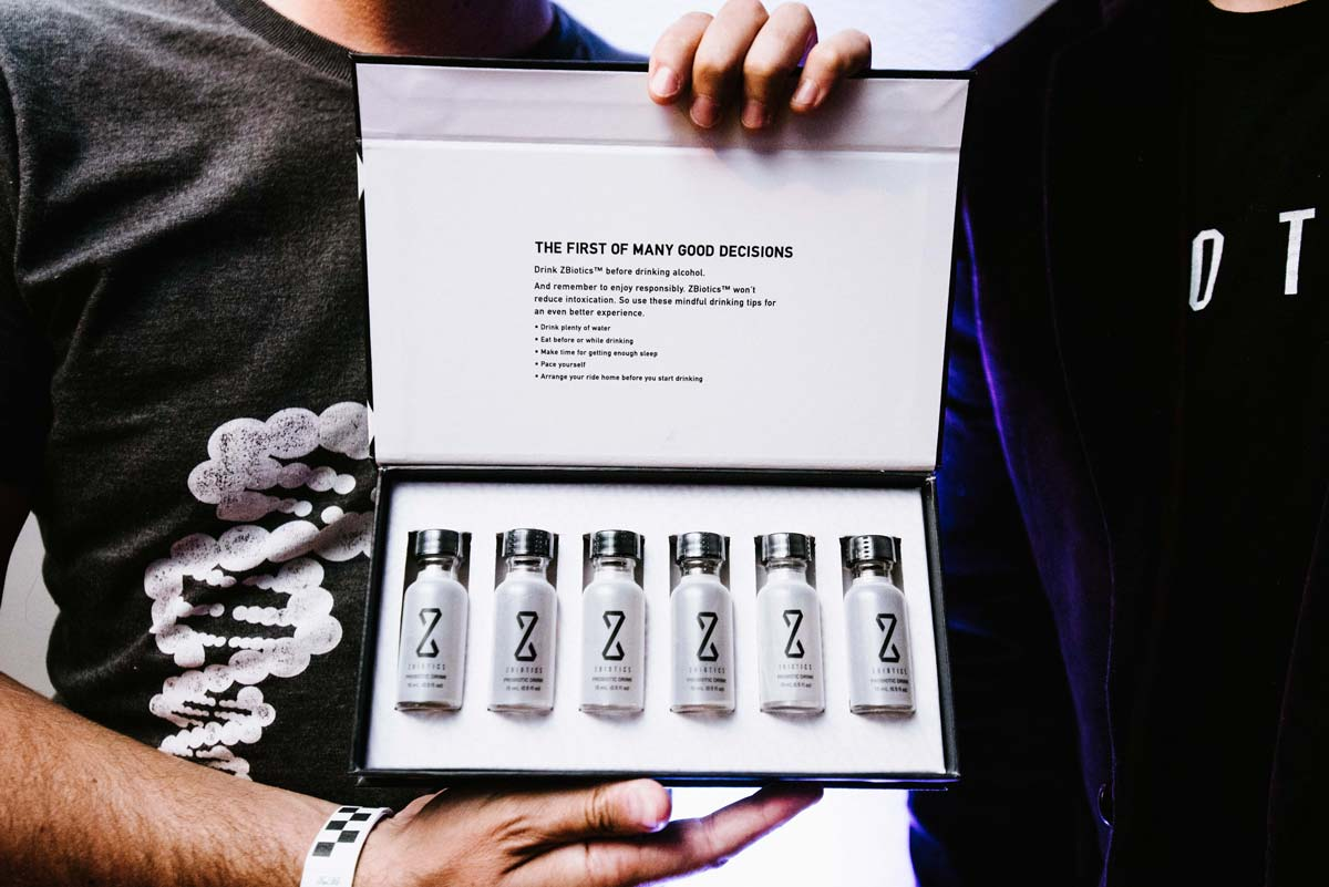 ZBiotics 6-pack at Launch Party