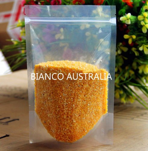 150g Stand Up Pouch, Kraft Paper, Plastics Lined, With Zip Lock (H210*W130+B80 mm)