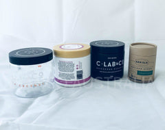Recyclable Premium Body Scrub / Cream / Nuts  Jars (PET / Card board )