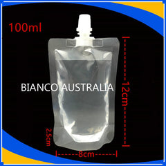 100ml Stand Up Spout Pouch