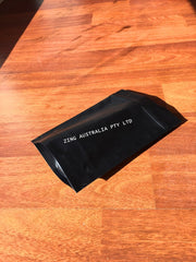 1KG Stand Up Coffee Pouch, Matte Black, Foil Lined, With Valve and Zip Lock