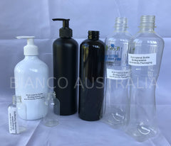 Degradable PLA Material Bottle (Custom Printing or Sticker Available)