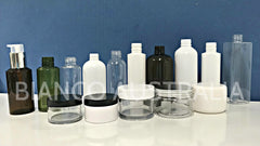 Premium PET Bottles with Caps / Multi Style Pumps (Food and Cosmetics Industry)