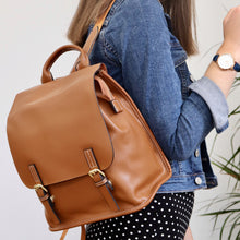 Load image into Gallery viewer, Mia Backpack - Tan Brown