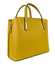 Load image into Gallery viewer, Veronica (Mustard) - Satchel handbag