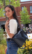 Load image into Gallery viewer, Viola Mini Backpack - Navy