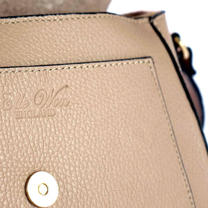 Ellie Saddle Bag Black