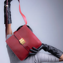 Load image into Gallery viewer, Freetown Satchel Shoulder Bag - Burgundy