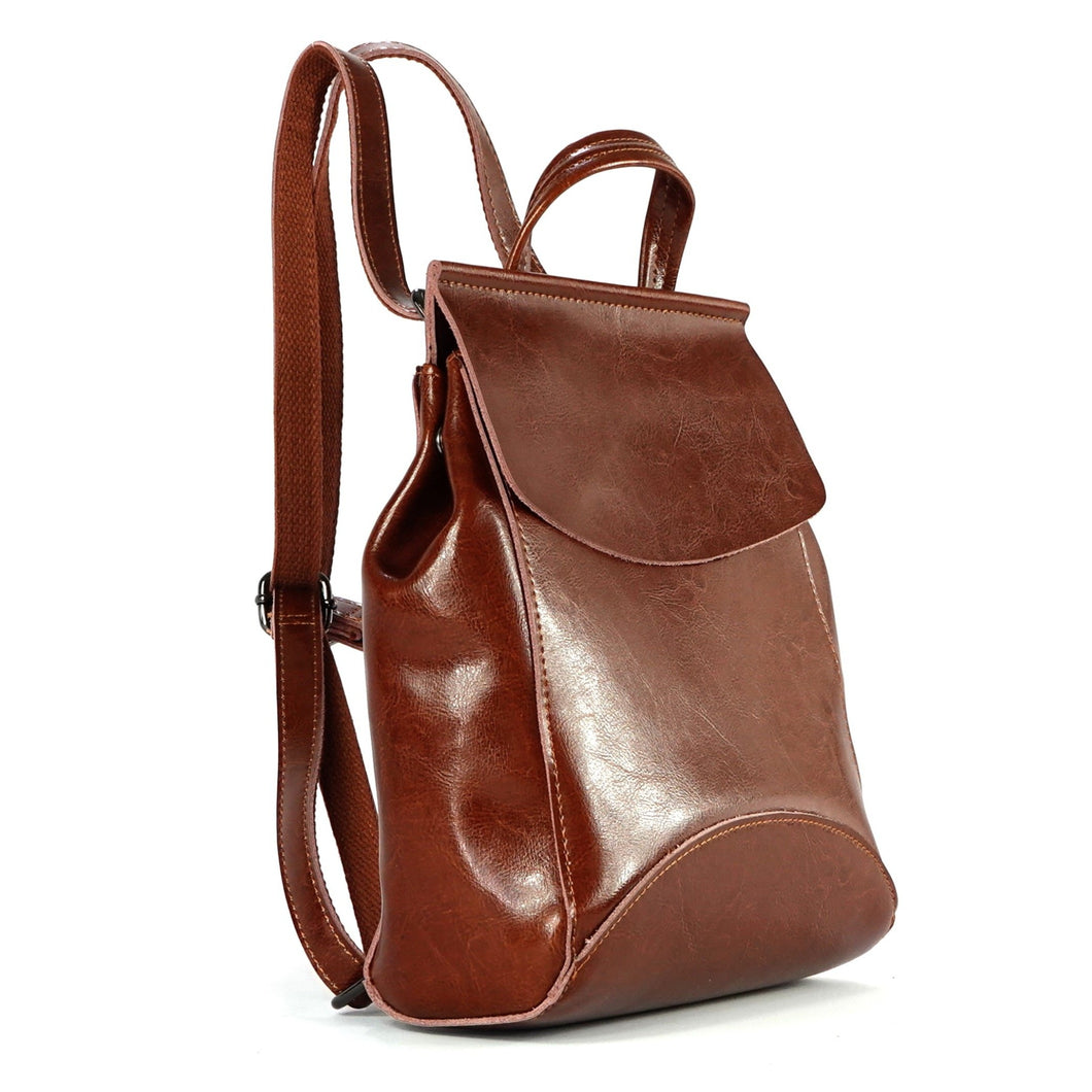 Viola Mini Backpack - Brown