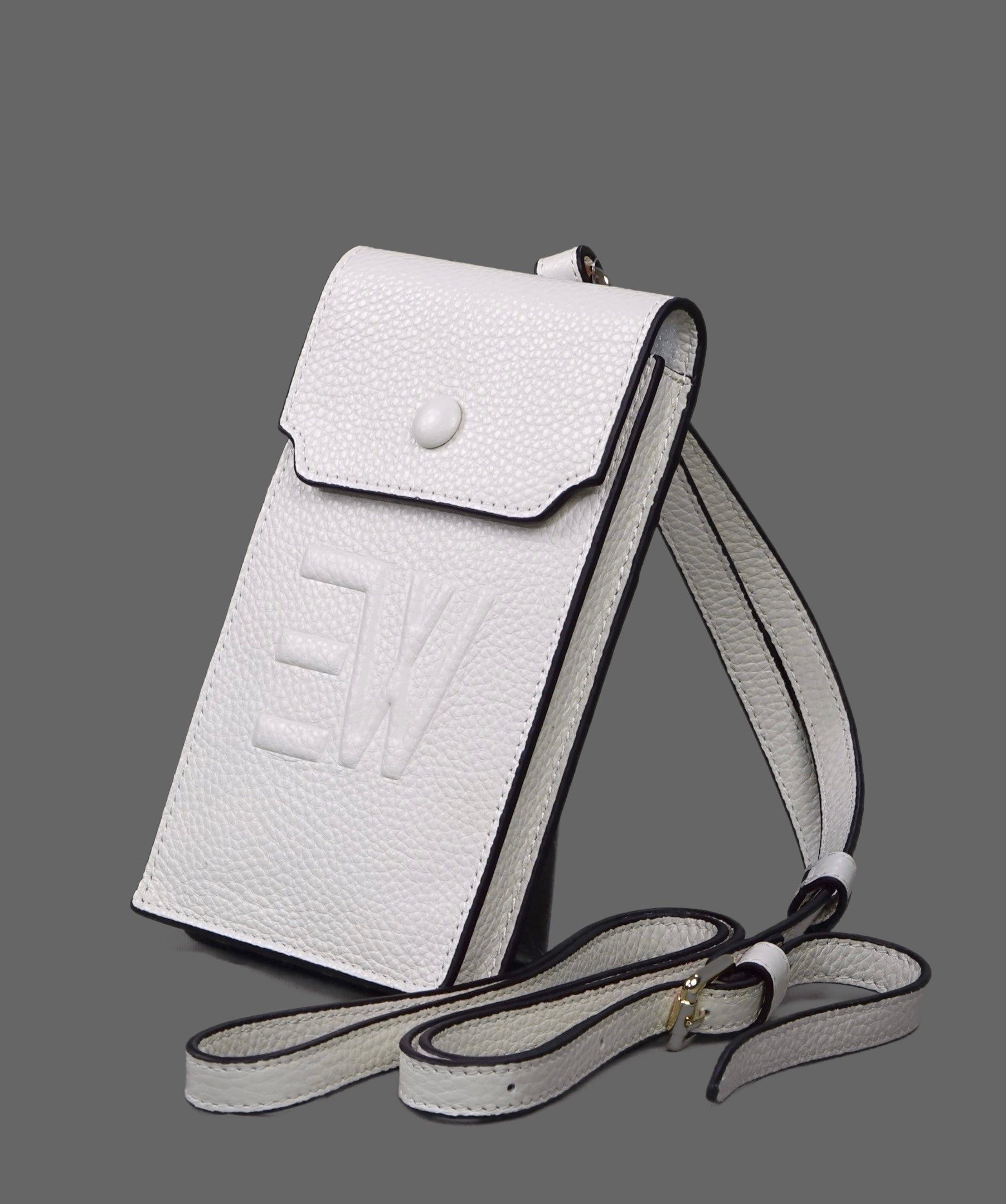 Jaff Phone Crossbody Wallets - Off White
