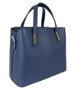 Veronica (Navy) - Satchel handbag