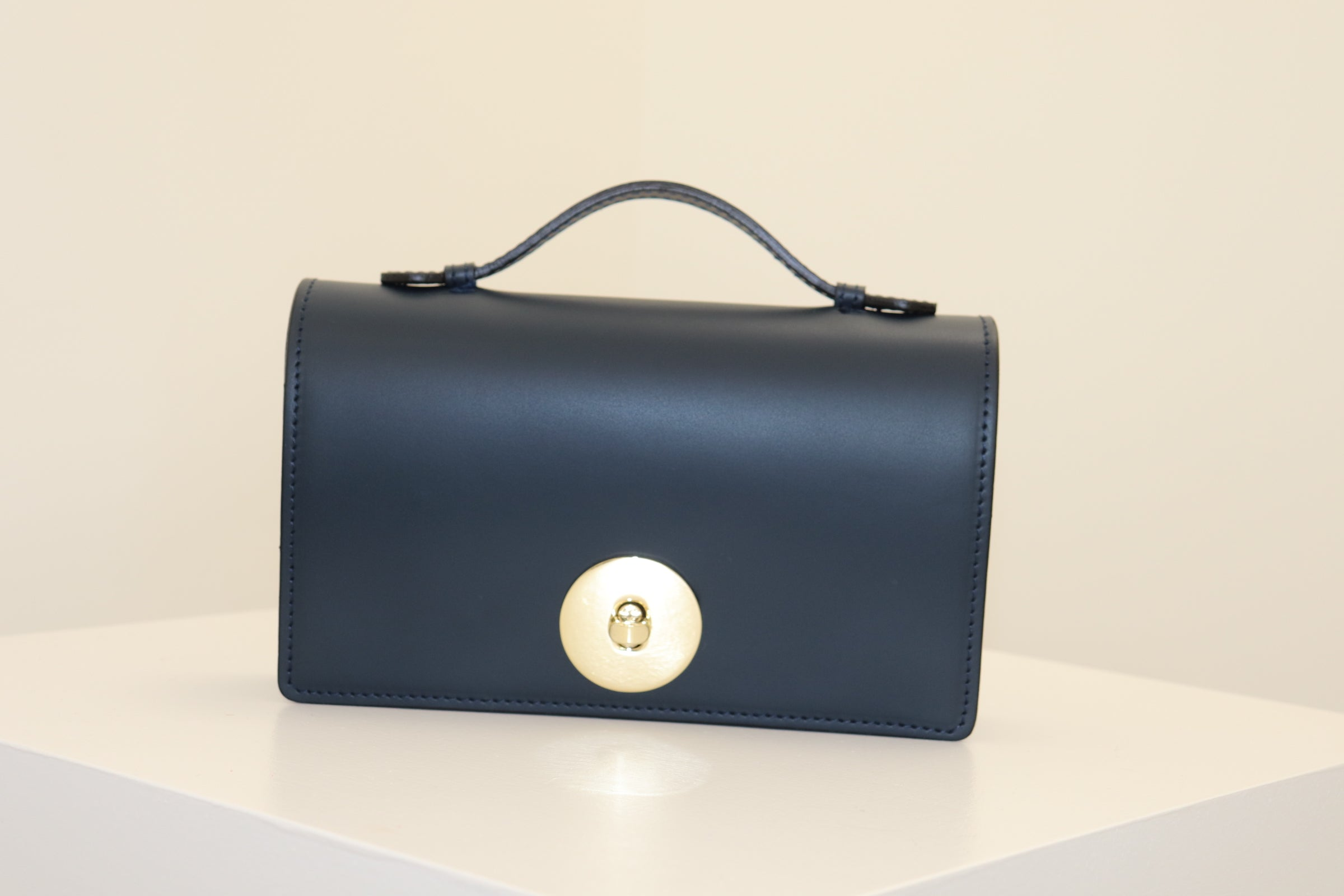 The Rosetta Crossbody Clutch Bag - Black